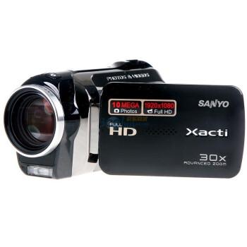 三洋(SANYO)VPC-SH1数码摄像机(黑色)