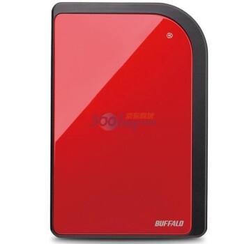 巴法络(BUFFALO)2.5英寸移动硬盘HD-PXT500U2/RD  500GB(宝石红)