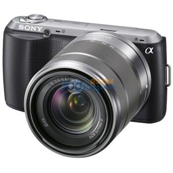 索尼(SONY) NEX-C3(18-55mm F3.5-5.6 OSS镜头)微单相机 黑色