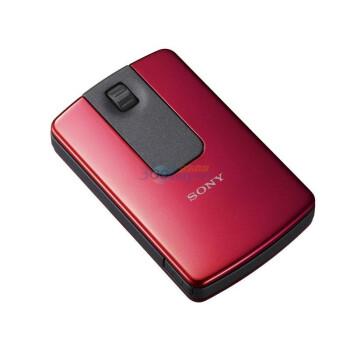 索尼(SONY)2.4G 无线旅行鼠标SMU-WM100(珊贝红)-索尼