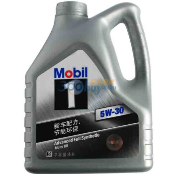Mobil 美孚 美孚1号全合成机油 5W-30 SN级(4L装)