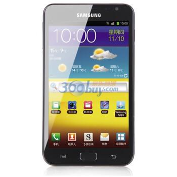 三星(SAMSUNG)Galaxy Note I889 3G手机(炭质蓝)CDMA2000/CDMA 电信定制