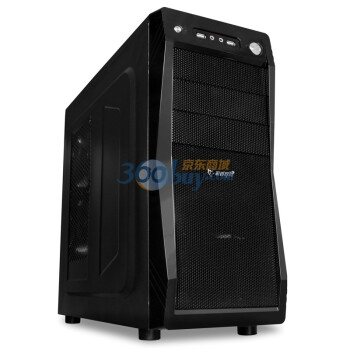 Game Demon 游戏悍将 核武器 中塔机箱(SSD位/电源下置/全黑化/背线)