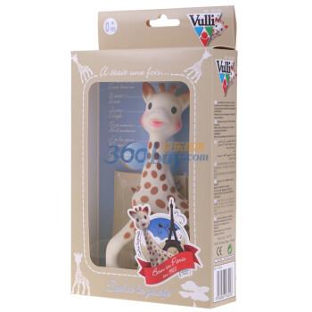 手慢无:Vulli 苏菲 长颈鹿 牙胶玩具