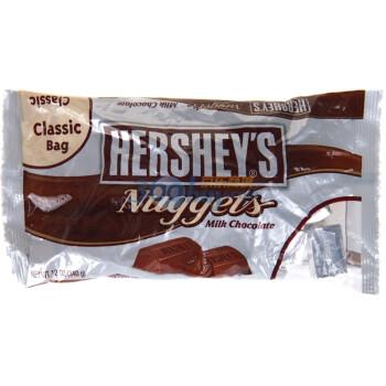 Hershey's 好时 牛奶巧克力块340g