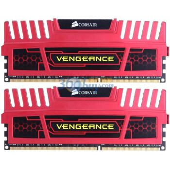 海盗船(CORSAIR)Vengeance DDR3 1600 8GB(2x4GB)台式机内存(CM