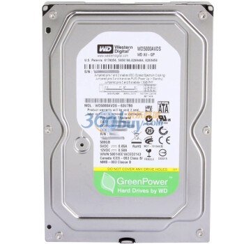 西部数据(Western Digital)500GB WD5000AVDS 7200转32M SAT