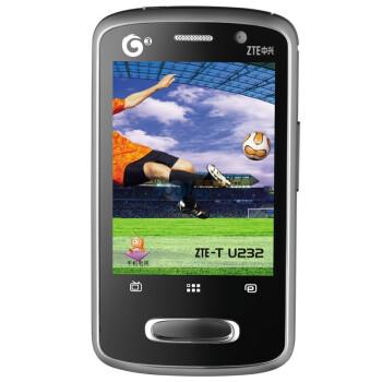 行货ZTE中兴U232 3G手机TD-SCDMA,499元返400话费(↓100)