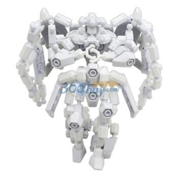 ASOBLOCK 机器人组合 创意拼插玩具251K黑色