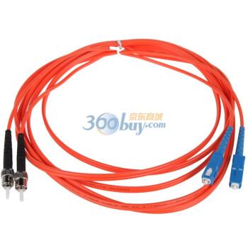 胜为(shengwei)FMC-203 ST-SC多模双芯电信级光纤跳线 3米
