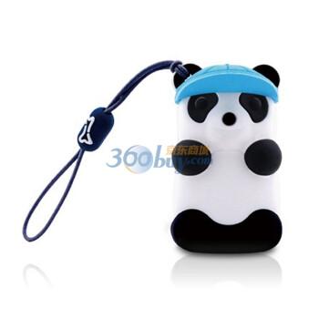 Bone 熊猫造型U盘 4G 蓝帽