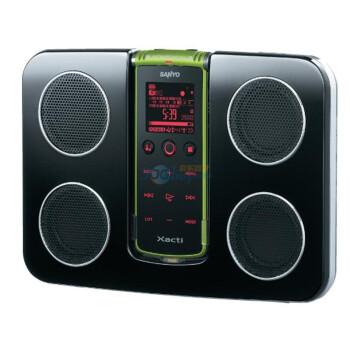 三洋 (SANYO) 数码录音大师ICR-XPS01MF (绿色)内配2G TF卡+专用音箱