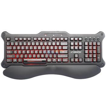 美加狮 Mad Catz Cyborg V.5 可编程背光游戏键盘¥249-10