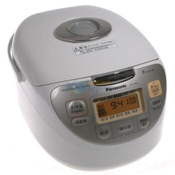 松下(Panasonic)电饭煲SR-CHB10  3L 象牙白 波纹钻石备长碳黑锅 特色煲仔饭及美