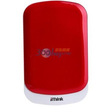 埃森客(Ithink)2.5英寸移动硬盘B52 USB3.0系列320G(活力红)