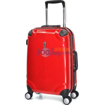 有券的上:Eminent 雅士 8Y9 19寸拉杆箱(PC、非拉链、TSA、红色款)