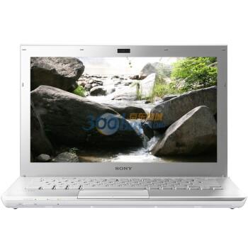 索尼(SONY)VPCSD27EC/W 13.3英寸宽屏笔记本电脑(i3-2310M 2G 320G