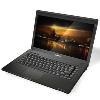 联想(Lenovo)G460AL 14英寸笔记本电脑 (P6200 2G 320G 512M独显 无线 摄像头 DVD刻录)魔幻黑