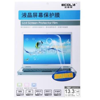 宜客莱(ECOLA)LCD-EL136K 13.3寸(16:9)宽屏 亮面液晶保护膜