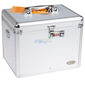 万信达(WXD)XJ020R1多功能数码相机(防潮)密码箱(银色)