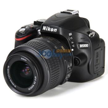 行货Nikon尼康D5100单反相机套机,4680元包邮送iPod Shuffle