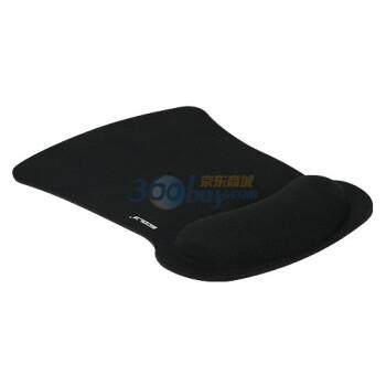宜客莱(ECOLA)MPD-016BK 超舒服Pro-Fit人体工学护腕式鼠标垫(黑色)