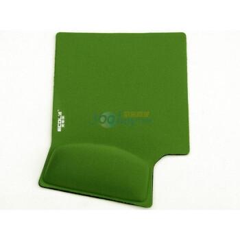 宜客莱(ECOLA) MPD-014GN 14度人体工学护腕鼠标垫(绿色)