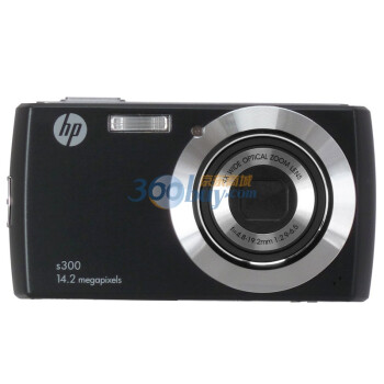 惠普(HP) S300 数码相机(黑色)
