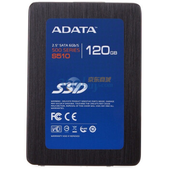 ADATA 威刚 S510 120GB SSD 固态硬盘