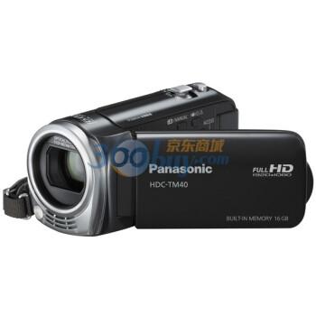 松下(Panasonic) HDC-TM40GK数码摄相机 黑色