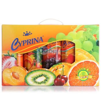 Cyprina塞浦丽娜5种口味果汁礼盒1L*5盒