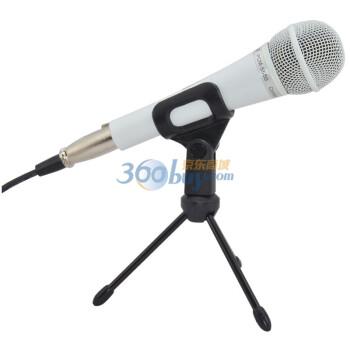 得胜(TAKSTAR)PCM-5550 专业电容麦克风 网络K歌 翻唱  电脑话筒 白色