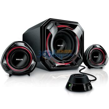 飞利浦(PHILIPS) SPA5300 2.1声道 线控 多媒体 音箱 黑色