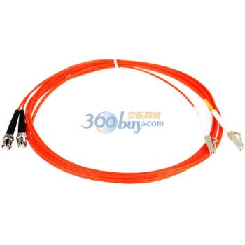 胜为(shengwei)FMC-206 LC-ST多模双芯电信级光纤跳线 3米