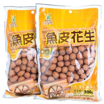 百味林鱼皮花生300g*2袋