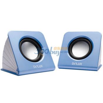 多彩(DELUX) DLS-Q5  2.0时尚音箱 蓝色