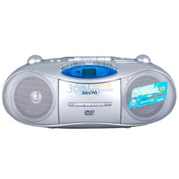 三洋(SANYO)镭射DVD卡式双声道收录机MCD-DV695M