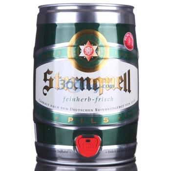 巴伐利亚之星 黄啤酒5L+黑啤酒5L
