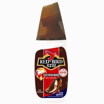 红鸟液体鞋油 棕色75ml