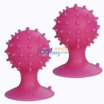 万信达(WXD) 苹果产品专用吸盘展示架2个装 粉色(适用于iPhone\iPad\iPod tou