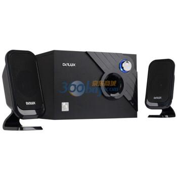 多彩(DELUX) DLS-X506 2.1多媒体音箱 黑色