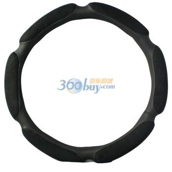 CEDEKE车德克 超手感3D立体麂皮绒汽车方向盘套,19元包邮