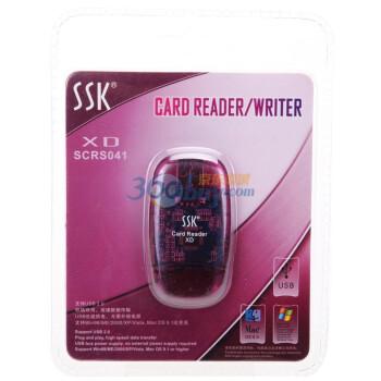 飚王(SSK)水晶XD卡读卡器SCRS041
