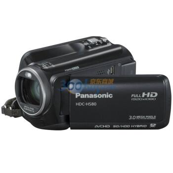松下(Panasonic) HDC-HS80GK数码摄相机 黑色