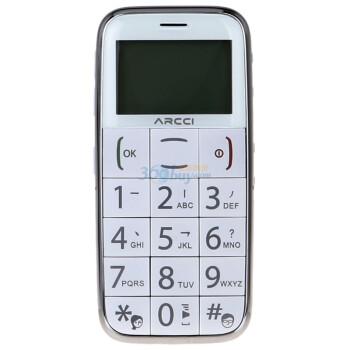 首信 S728 老人手机GSM(白色)雅器版