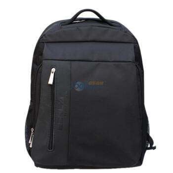 宜客莱 ECOLA 马德里欧风经典电脑背包(欧I)BAG-BP11BK 黑色