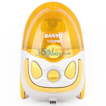 三洋(SANYO)吸尘器SC-298T-06 明黄色 1200W 可变功率