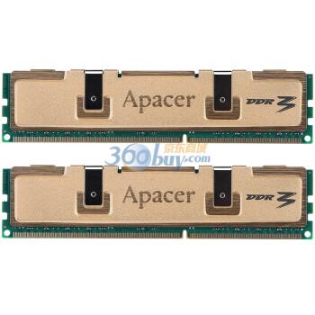 宇瞻(Apacer)黑豹金品 DDR3 1333  8G(4G×2条)台式机内存