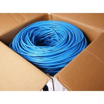 三堡 SANBAO 工程级六类 无氧铜八芯双绞网线 305米/箱   799元(下单减160 即639元)