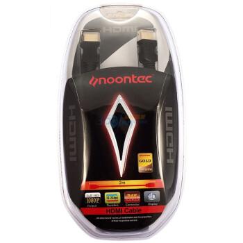 图美(Noontec) 2米高速24K镀金HDMI线 黄金版